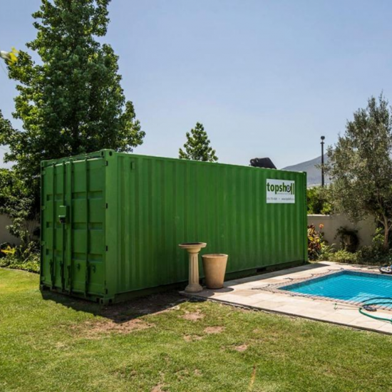 On Site Storage Container for Home Renovations